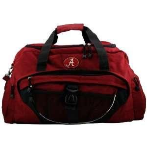 Alabama Crimson Tide Crimson Duffle Bag