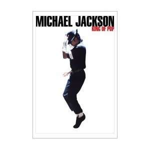 MICHAEL JACKSON King of Pop Music Poster