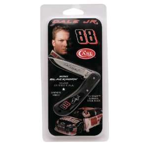 Case Cutlery 8891 Case Dale Earnhardt Jr. Mini Blackhorn Pocket Knife