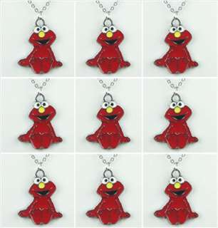 Lot Wholesale 9 Sesame Street Elmo Necklace Birthday Party Xmas Boys