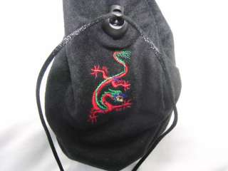 Hand Made Gift, Party Favor, Costume Bag   Dragon