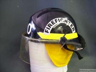 Bullard PX Fire Helmet Firefighter Black NFPA firedome
