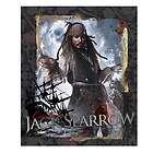 Johnny Depp Jack Sparrow Pirates Caribbean Disney Movie Fleece Blanket