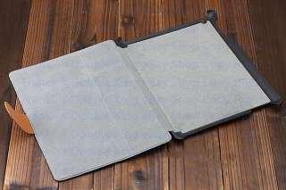 Blue Leather Case Cover f Genuine Apple iPad 2 PF0130 2