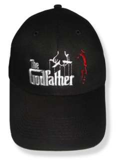 The Godfather Embroidered Cap or Hat Michael Corleone
