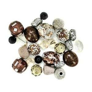 Jesse James Inspirations Beads Latte; 3 Items/Order: Arts