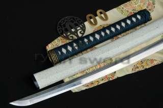 TOP HIGH QUALITY Clay Tempered Japanese Samurai Sword Katana Iron