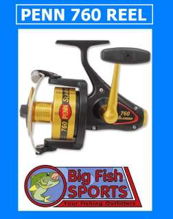 PENN SLAMMER 760 Fishing Spinning Reel FREE SHIP! NEW!