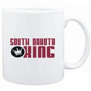Mug White  South Dakota KING  Usa States Sports