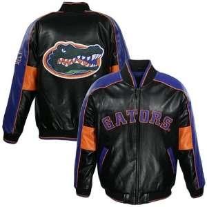 Florida Gators Black Youth Faux Leather Varsity Jacket Sports
