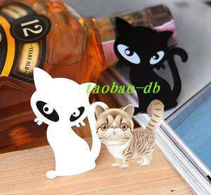 Brand New 2 Colors Lovely Acrylic Cat Brooch Pin