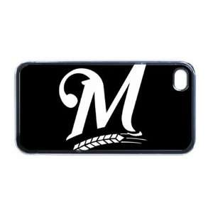 Milwaukee Brewers Apple RUBBER iPhone 4 or 4s Case / Cover