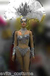 Da NeeNa T0044 Vegas Showgirl Drag Samba Headdress Costume