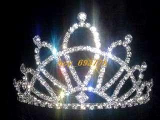 Wholesale 5pcs N oble Prom/Bridal Crystal Rhinestone TIARA Crown s