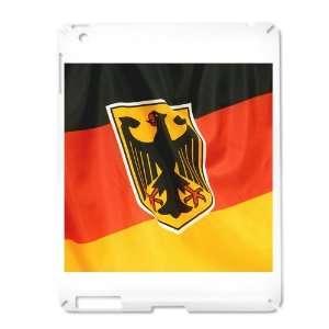 iPad 2 Case White of German Flag Waving