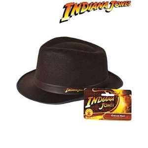 Indiana Jones Child Costume Accessory Brown Fedora Hat