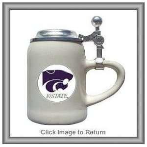 Set of 2 NCAA Kansas State Wildcats Ceramic Shot Glasses