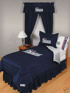 NEW ENGLAND PATRIOTS TWIN Comforter & Sheets, Bedding