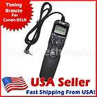 Timer Remote Shutter Release with LCD for Canon Rebel T1i T2i T3i