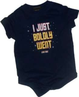 Just Boldly Went    Star Trek Infant Onesie Snapsuit: Clothing