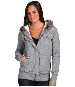 New Roxy Jacket Small Break Time Jackets Breaktime Hooded Sherpa Lined