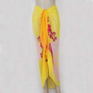 New Chiffon Sexy Wrap Dress Sarong Beach Cover Up Scarf