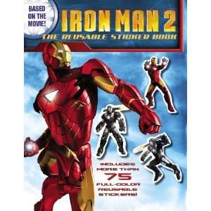 Iron Man 2 The Reusable Sticker Book [Paperback] Alice