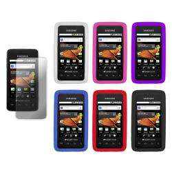 Premium Samsung Galaxy Prevail Silicone Case with Screen Protector