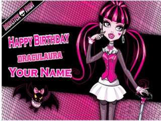Monster High Cup Cake Toppers