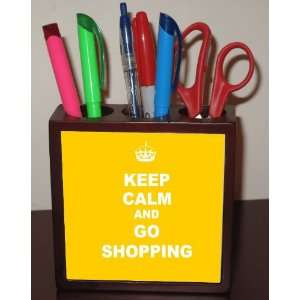 Rikki KnightTM Keep Calm and Go Shopping   Yellow Color 5
