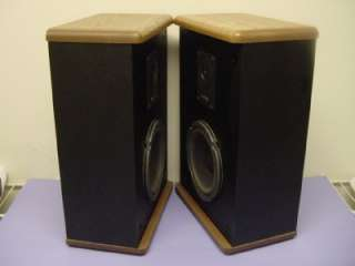 VINTAGE ADVENT BABY II BEAUTIFUL PAIR OF 2 WAY BOOKSHELF SPEAKERS MINT