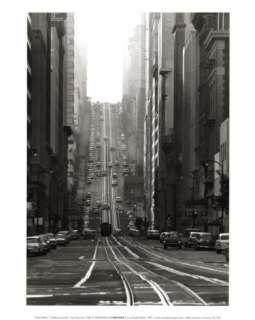 California Street, San Francisco, 1964 Prints by Todd Walker at