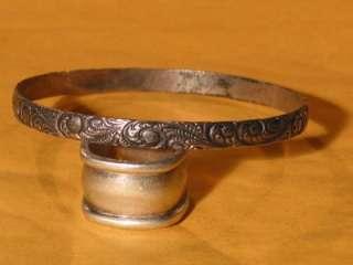 DANECRAFT / Felch & Co Sterling Art Nouveau Vintage Bangle Bracelet