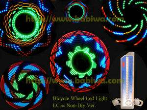 Genuine Luxury Bike Bicycle Tire Tyre Spoke Wheel Flash Light Safety