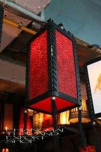 Red Asian Oriental Paper Pendant Ceiling Lamp light