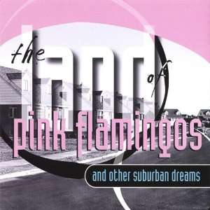 Land of Pink Flamingos Blue Yard Garden Music