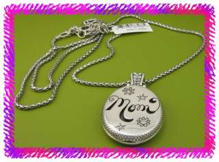 BRIGHTON FAMILY FUN MOM Locket Long Necklace NWtag