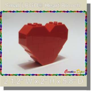 Fashion Jewelry Small Heart Brooch Pin Valentines Day Sweetheart Love