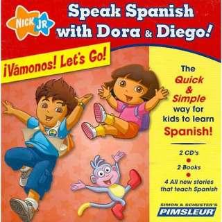 Speak Spanish with Dora & Diego Vamonos Lets Go Children Learn to
