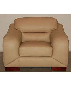 Madison Wheat Brown Leather Chair