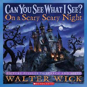 On a Scary Scary Night Picture Puzzles to Search and
