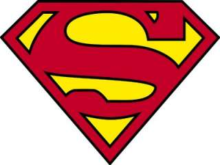 SUPERMAN Cool Decal Decor Removable HUGE WALL STICKER
