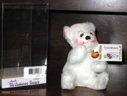 ANNALEE Birthstone BEAR w/Swarovski crystal heart   MWT