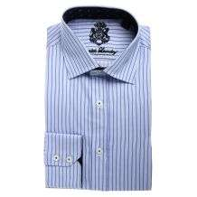 English Laundry Mens Pinstripe Dress Shirt