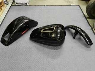 00 07 Harley FXSTDI Softail Deuce Paint Set Gas Tank Fenders Tin Set
