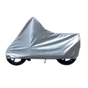 Super Large Size Nylon Motorcycle Cover Silver