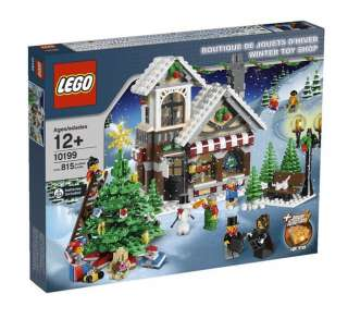 Brand New Lego Exclusive 10199 Winter Toy Shop Retired