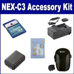 Sony Alpha NEX C3 Digital Camera Accessory Kit includes