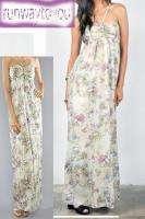 NWT Jack BB Dakota Anthropologie Green Ruched Flattering Maxi Dress xs