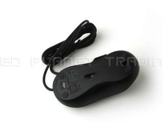 Genuine Dell Black Three Button USB Wired Scroll Wheel Optical Mouse